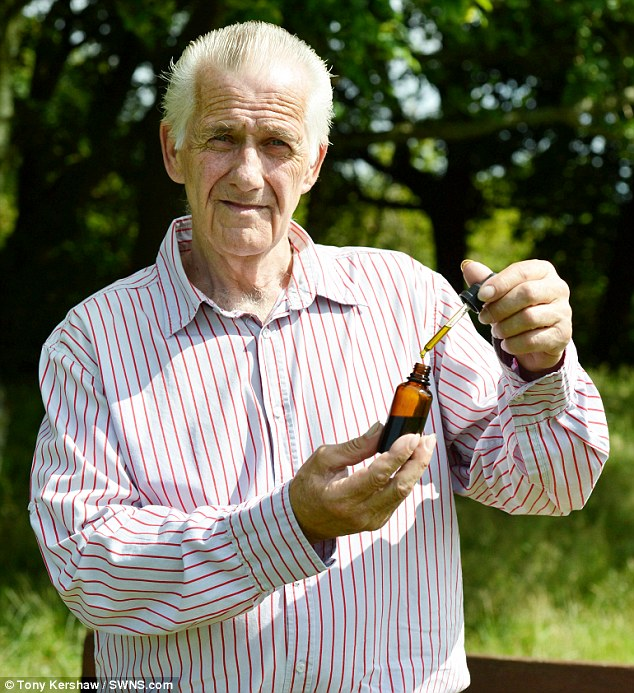 Grandfather, 63, claims he cured his cancer with 'Breaking Bad' style homemade CANNABIS OIL