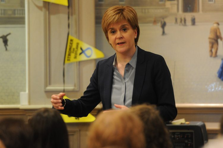 Nicola Sturgeon backs cannabis for medicinal use - The Courier